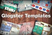 Glogster Templates / Be inspired by pre-designed templates, allowing you and your students to quickly create impressive and well-structured glogs, adding information and expression without the stress of formatting. Timelines, book reviews, science reports and more all await your content and finishing touches!