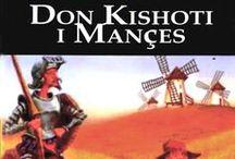 """El Quijote en la RBIC / Traducciones a otros idiomas y ediciones especiales de la obra de Cervantes editados en otros países y pertenecientes a la colección de nuestra red de bibliotecas. Si, además, quieres leer el primer capítulo de la obra en otro idioma puedes acceder a la colección digital """"Traducciones del Quijote"""" http://coleccionesdigitales.cervantes.es/cdm/landingpage/collection/quijote"""