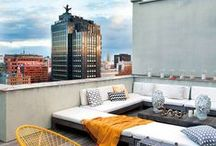 Rooftop Design Ideas / From the unusual to the superb Rooftop Design Ideas. unsual and extravagant terraces and rooftops perfect to suit your every mood. The outdoor decor since the furniture to the lighting must be perfect for