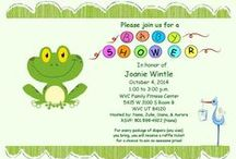 Joanie's baby Shower / September 20. fun boy things.