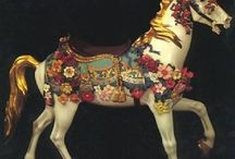 Vintage & rocking / Love vintage and carousel horses