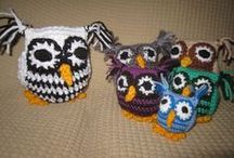Wool Creations / A variety of toys and accessories made from either crocheting or knitting.