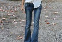 Flare jeans / Perché io amo, da sempre, i favolosi, sexy, fantastici jeans a zampa <3 !