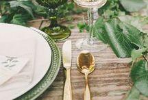 •  GREEN WEDDING •