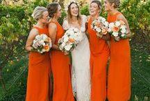 •  ORANGE WEDDING •