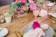 •  FUCHSIA WEDDING •