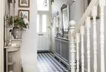 INTERIORS | Hallway / Ideas for decorating the hallway and entrance spaces of a home.