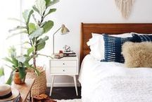 INTERIORS | Bedroom / Ideas for decorating the bedroom.