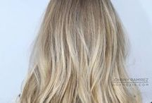 HAIR | Colours / Inspiration for hair colors - the perfect blonde, the brightest pink, the softest purple...