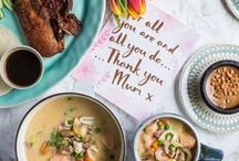 Mother's Day / Show your mum how much you care this Mother's Day by treating her to a three course meal. Below you will find some wonderful recipes that are perfect for your celebrations.