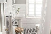 INTERIORS | Bathroom / Bathroom design and styling ideas.