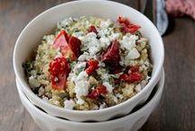 RECIPES | Lentils, Beans and Quinoa / Recipes and dinner ideas using lentils, beans and quinoa.