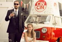 CIN CIN: WEDDINGS / Our vintage Fiat van takes to the road to serve our authentic Italian bubbles and nibbles at weddings across the UK. Get in touch for prices.