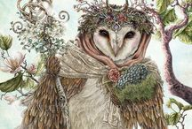 Obsessed with Owls / various art decors / by Rebecca