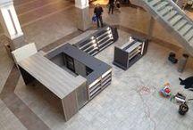 Express Lane Connivence / Cataraqui Centre kiosk location design & Install