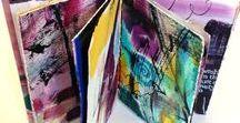 Book Arts Class | Bravo School of Art / Calligraphy, book binding, collage, marbling