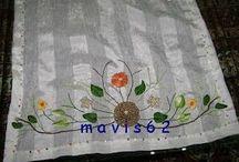 Nakış embroidery tel kırma-kanaviçe / Brezilya nakışı, tel kırma, kanaviçe