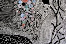 Zentangles / Zentangle arts