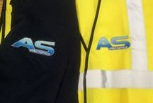 Hi-Viz Products with and without embroidery / embroidery your logo on safety wear.