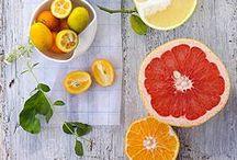 Lemon, Citron and Orange