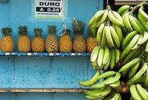 Südfrüchte - tropical fruits