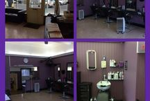Salon before pics / Before our lovely makeover