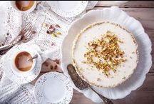 white desserts & cakes