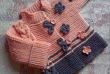 Dětské pletení a šití