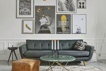 D E C O  I N S P I R A T I O N / Decoration d'intérieur pour petite surface, studio, 2 pièces