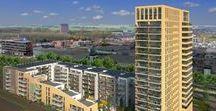 Toren | Wonen in Hoorn / Altijd al eens boven de stad uit willen kijken? Of juist heerlijk aan een binnentuin willen wonen, met de stad om de hoek? TOREN biedt 209 appartementen, elk met een heel eigen verhaal. Elk appartement heeft een unieke eigenschap, door bijvoorbeeld een eigen entree, ligging aan de binnentuin, het ruimtelijk uitzicht over de tuin of over het oude stadscentrum en het IJsselmeer in de hoger gelegen appartementen.