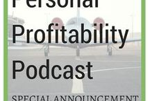 Personal Profitability Podcast / The Personal Profitability Podcast, or PPP, where we interview cool people doing amazing things - without worrying about money! Debt advice, savings tips, and more here.