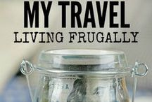 How to Travel Frugally / Love to travel but don't have a huge travel budget? That's okay! Follow this board for travel hacks, ways to save money while traveling, and saving money before you travel!