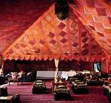 Bombay Boudoir Tent / Bombay Boudoir wedding tents and inspiring bombay style wedding images