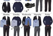 What to Wear for Men / Never wonder what to wear again! Check out this board for ideas on appropriate attire for interviews, job fairs, internships and jobs. These are just ideas; they are not brand endorsements. / by Bucknell Career