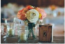 Rustic Wedding Centerpieces  / Rustic wedding centerpiece for your rustic or country wedding from rusticweddingchic.com
