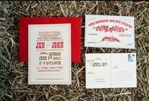 Country Wedding Invitations  / All the best invitations for a country style wedding. Country wedding invitations for the best country chic wedding.