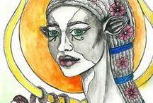 goddesses and jewels / handmade jewellery and artwork