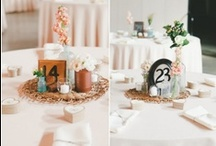 Table Numbers / by Rustic Wedding Chic