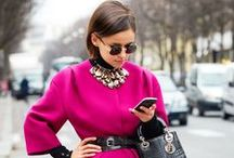 Pink & Fab Fashion / Fabulous looks in all shades of pink