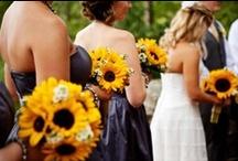 Sunflower-Themed Wedding