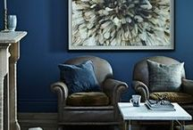 INDIGO LOVE / A scavenger hunt for the most beautiful images of this stunning colour #indigo #blue #midnightblue #interiors #favouritecolour #thedesignhunter