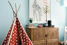 CHILDREN'S SPACES / Beautiful spaces for children #bedrooms #kidsroom #play #cot #cradle #interiors #nursery #decor #thedesignhunter