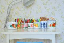 Craft Room LOVE / Inspiring spaces