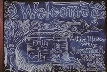 Wedding Chalkboard Ideas / Wedding chalkboards are the best way to add a little country chic quality to your wedding. See all of the newest and best wedding chalkboard ideas.
