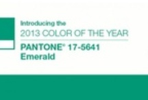 Color Of The Year 2013 / The Pantone color of the year for 2013 in this amazing green. Find all the latest trends in this beautiful color of the year.