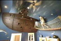 Fantasy Kid's Rooms / Rooms and play areas you wish you had growing up / by Red Beauty Textiles