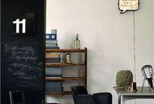 CHALKBOARDS / Blackboards aren't just for kids! #chalkboard #blackboard #kitchens #office #kids #chalk #thedesignhunter