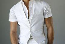 White Attire for Men & Women / Men's and Women's White Fashion Looks