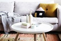 COFFEE TABLESCAPES / Coffee table styling ideas for living spaces #interiors #coffeetable #sidetable #vignettes #vases #loungeroom #thedesignhunter #styling #home #livingroom