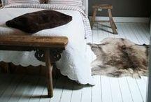 HIDES & SHEEPSKINS / #hides #furs #sheepskins #lambswool #natural #flooring #rugs #interior #livingroom #bedroom #warmth #seating